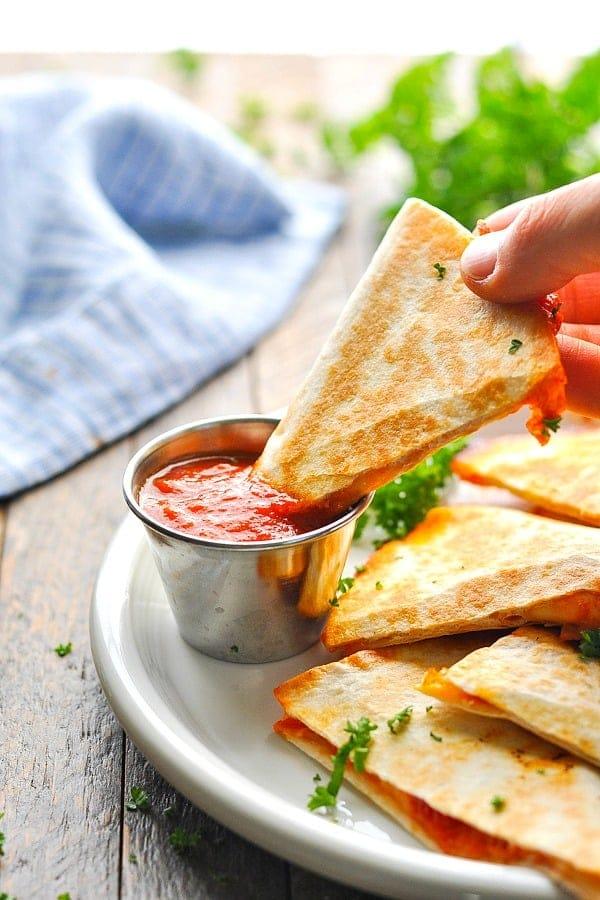 Quesadillas de Pizza