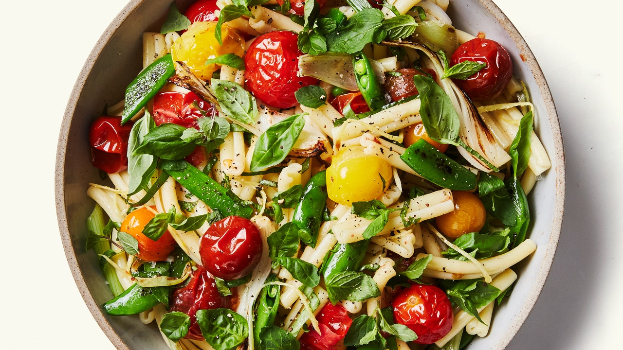 Salada com Veggies e Tomate