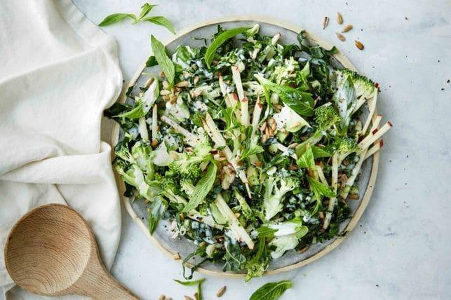 Salada de Beterraba, Brócolos e Maçã