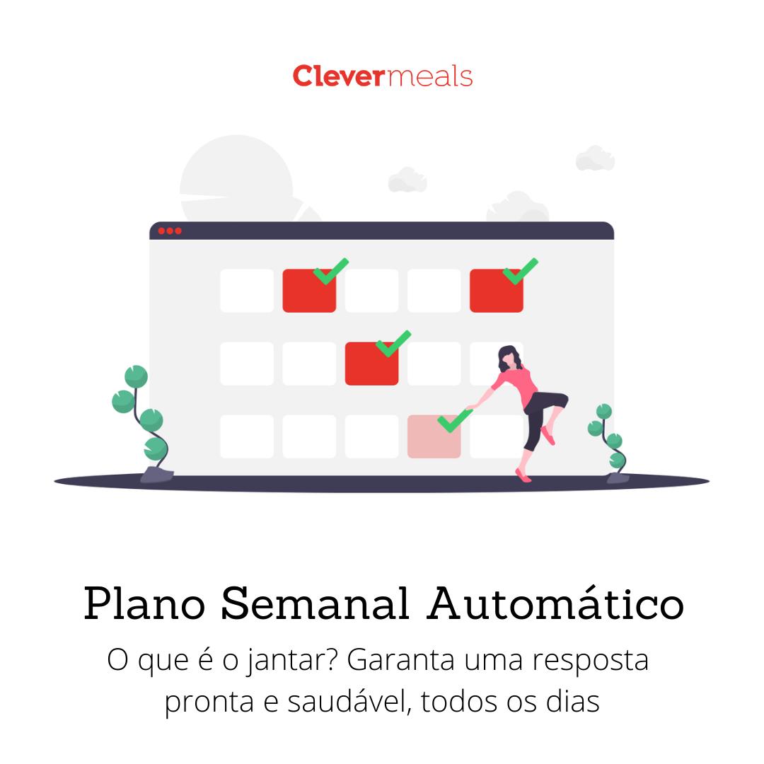 Plano Semanal Automatico Clevermeals