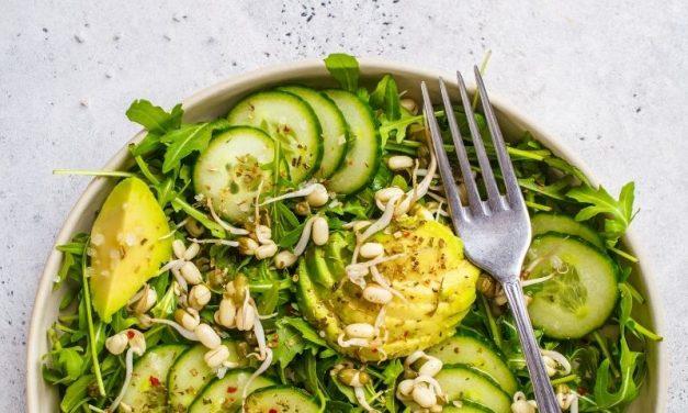 Saladas Frias de Verão