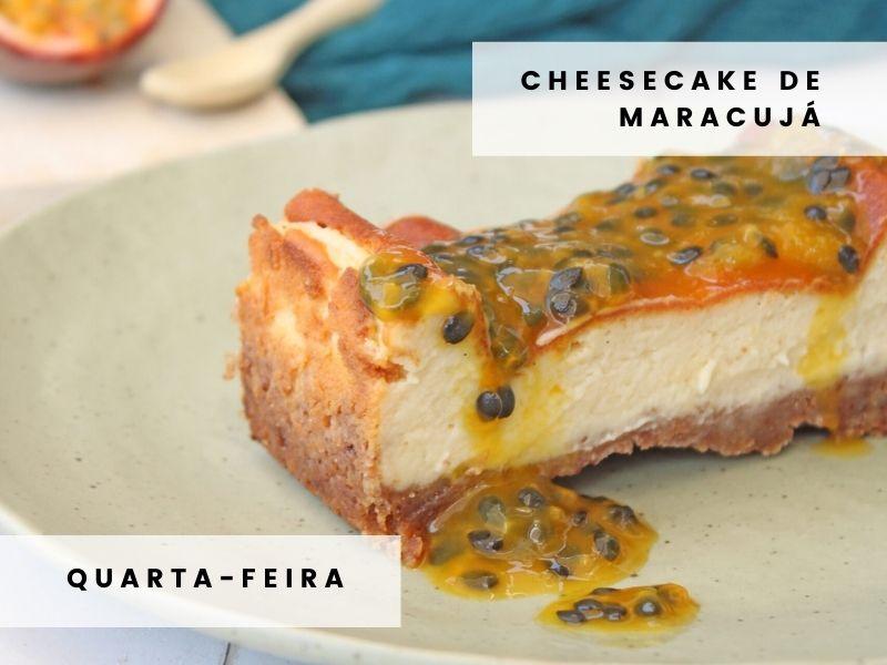 Cheesecake Maracujá